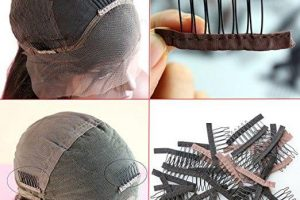 hair combs for wigs