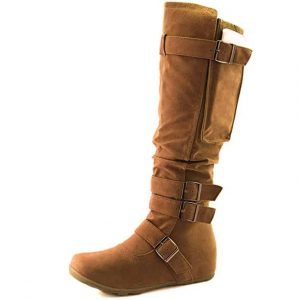 mid calf boots with heels for women