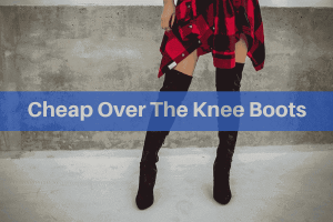 cheap over the knee boots